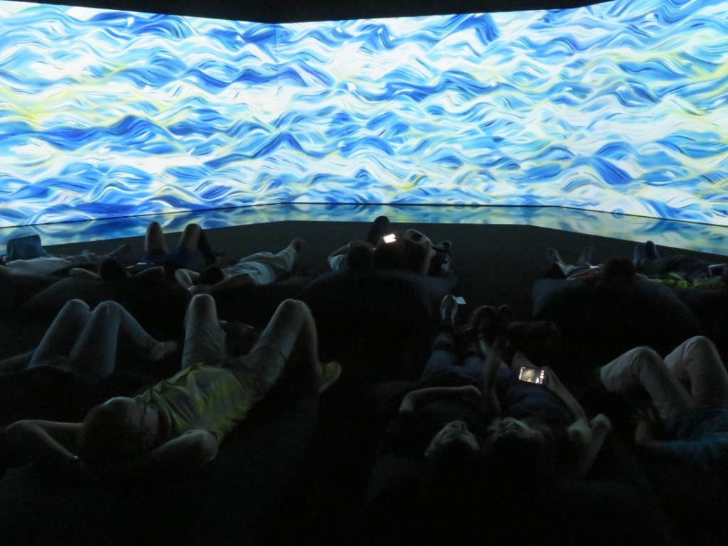 100 Years of the Sea is a diorama immersing you in rising sea levels.